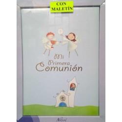 LIBRO COMUNION CON MALETIN...