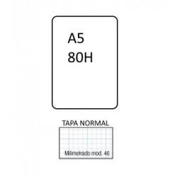 BLOC  Nº46 3MM A5 80H TAPA...