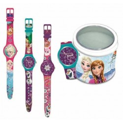 RELOJ EN TIN BOX FROZEN...
