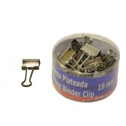PINZA PLATEADA 19MM PACK-24...