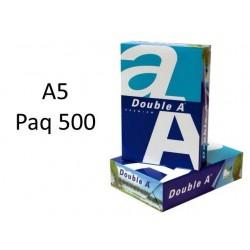 PAPEL A5 BLANCO PAQUETE 500...