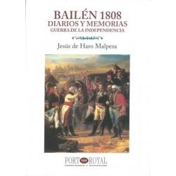 LIBRO BAILEN 1808 DIARIOS Y...