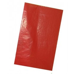 PAPEL CALCO ROJO A4