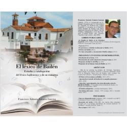 LIBRO LEXICO DE BAILEN