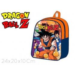 MOCHILA 25x20x5CM DRAGON BALL