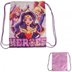 SACO 38CM DC SUPERHERO GIRLS