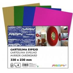 CARTULINA A4 METALIZADA...