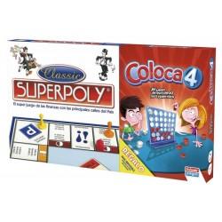 JUEGO SUPERPOLY + COLOCA4...