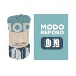 MANTA 120X160 FRASE MODO...