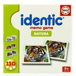 JUEGO IDENTIC MEMO GAME EDUCA