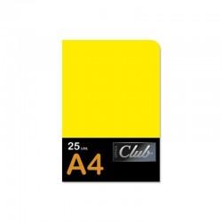 SUBCARPETA A4 CLUB AMARILLO...