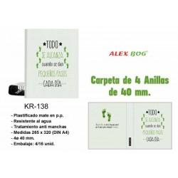 CARPETA A4 4 ANILLAS TODO...
