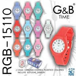 RELOJ PULSERA RGB-15110...