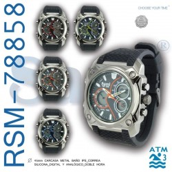 RELOJ PULSERA RSM-78858...
