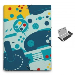 CARPETA FOLIO SOLAPAS GAMER...