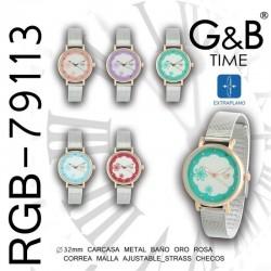 RELOJ PULSERA RGB-79113 G&B...