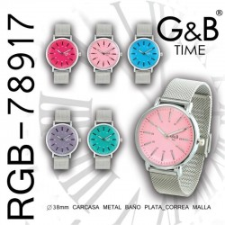 RELOJ PULSERA RGB-78917 G&B...