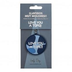 LLAVERO LOVELY LOVE YOU A...