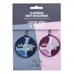 LLAVERO LOVELY DOBLE LOVE...
