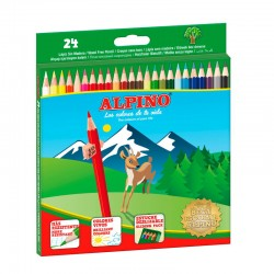 LAPIZ COLOR ALPINO 24 COLORES