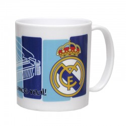 TAZA PLASTICO REAL MADRID...