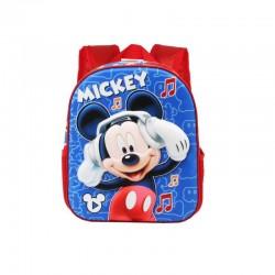 MOCHILA 31CM 3D MICKEY