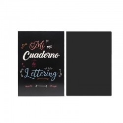 CUADERNO LETTERING A4 50...