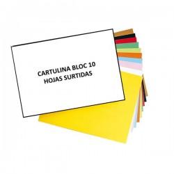 CARTULINA 24X32 CM BLOCK 10...