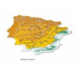 PLANTILLA MAPA ESPAÑA  22 x...