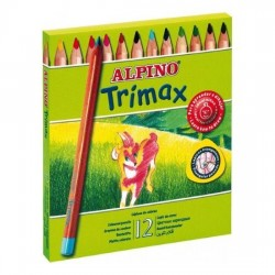 LAPIZ COLOR ALPINO TRIMAX...