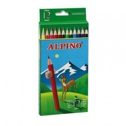 LAPIZ COLOR ALPINO 12 COLORES