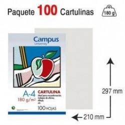 CARTULINA A4 COLOR GRIS...