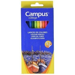 LAPIZ COLOR CAMPUS 12 COLORES