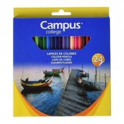 LAPIZ COLOR CAMPUS 24 COLORES