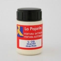 TEMPERA PAJARITA MARFIL L-25