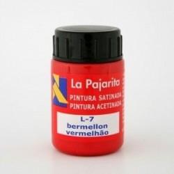 TEMPERA PAJARITA BERMELLON L-7