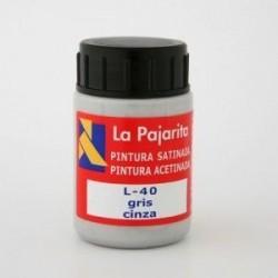 TEMPERA PAJARITA GRIS L-40