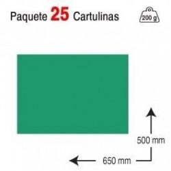 CARTULINA A2 PAQUETE 25...
