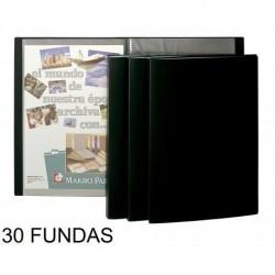 DOSIER FUNDAS 30 NEGRO