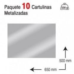 CARTULINA A2 PAQUETE 10...