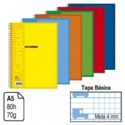 BLOC MELA 4MM A5 80 HOJAS