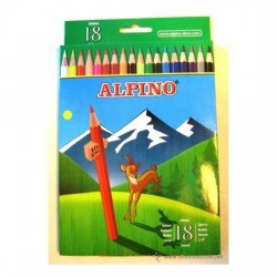 LAPIZ COLOR ALPINO 18 COLORES