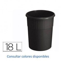 PAPELERA PLASTICO 18L