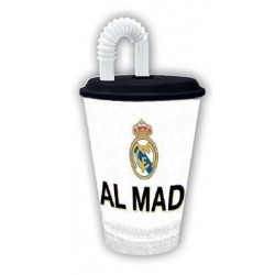 VASO REAL MADRID CAÑA 430ML
