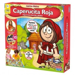 JUEGO CAPERUCITA ROJA FALOMIR