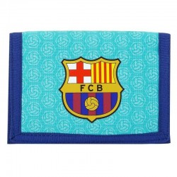 BILLETERA BARCELONA 12CM BLUE