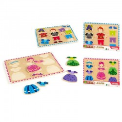 PUZZLE MADERA 12PZ...