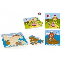 PUZZLE MADERA 16PZ...